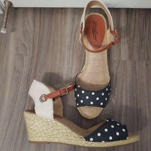 Lucky brand espadrille sandals